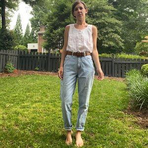 Vintage Cherokee High Rise Straight Leg Mom Jean
